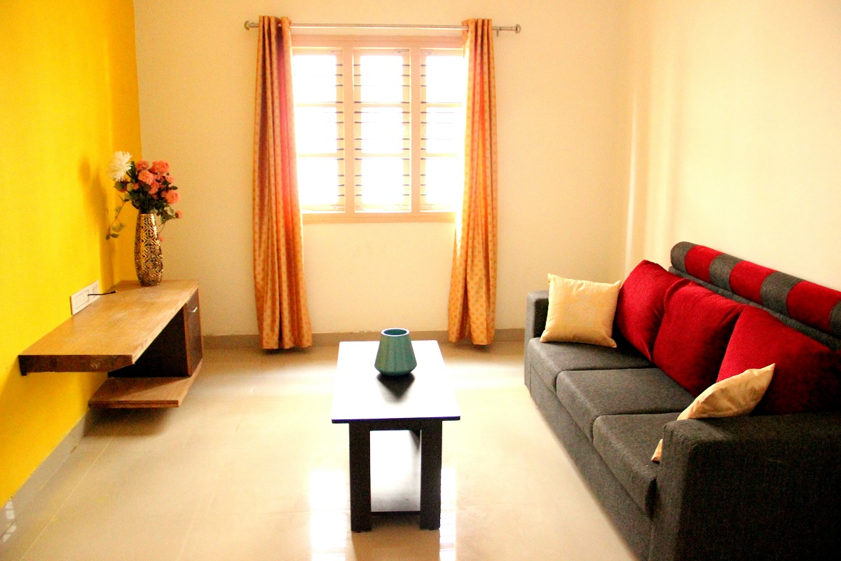 1 bhk flat interior design - 1 Bhk Furnished Semi Furnished Flat For Rent In Homigo Aviano