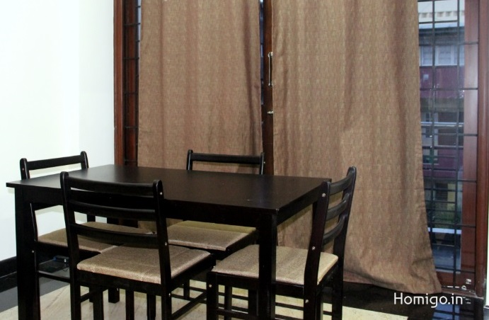 3 BHK furnished & semi-furnished Flat for rent in Langford Garden, Richmond Town, Bangalore | Homigo
