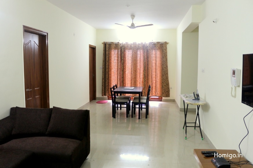 3 BHK Flat for rent in Homigo Avenir, Koramangala, Bangalore | Homigo