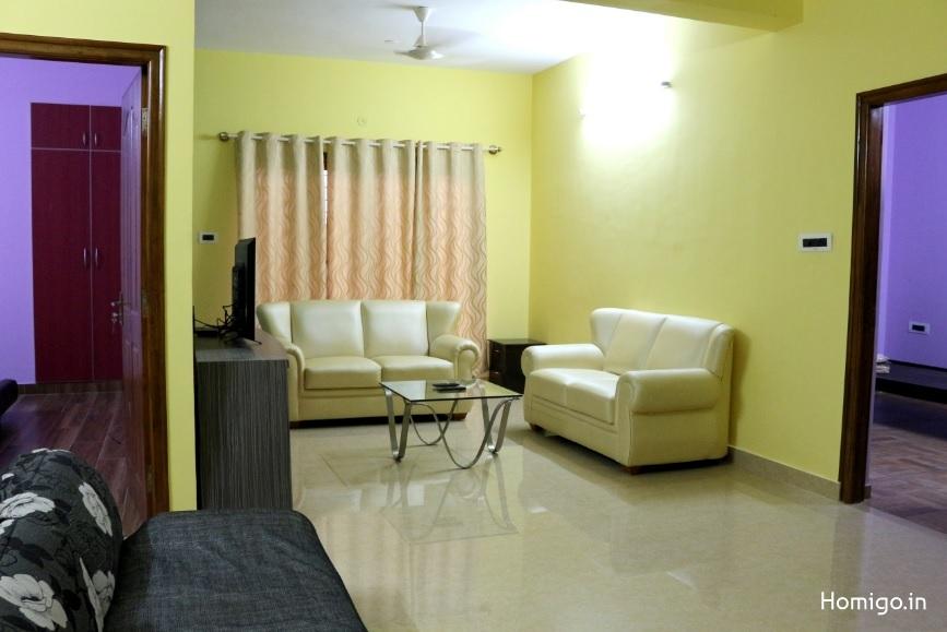 3 BHK Flat for rent in Homigo Avenir, Koramangala, Bangalore | Homigo