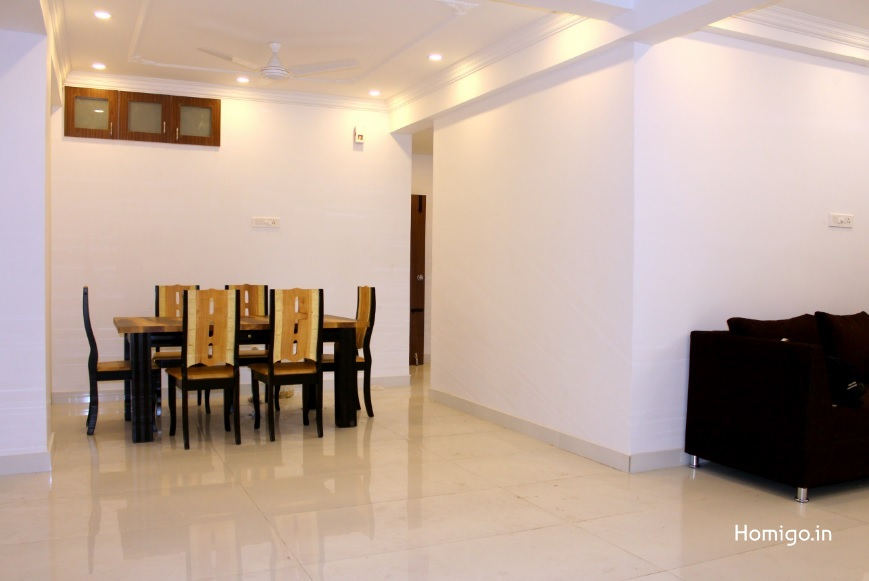 4 BHK furnished & semi-furnished Flat for rent in Ramya Regent, Indira Nagar, Bangalore | Homigo