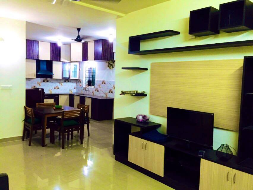 3 BHK furnished & semi-furnished Flat for rent in DS Max Sambram, Hosur Road, Bangalore | Homigo