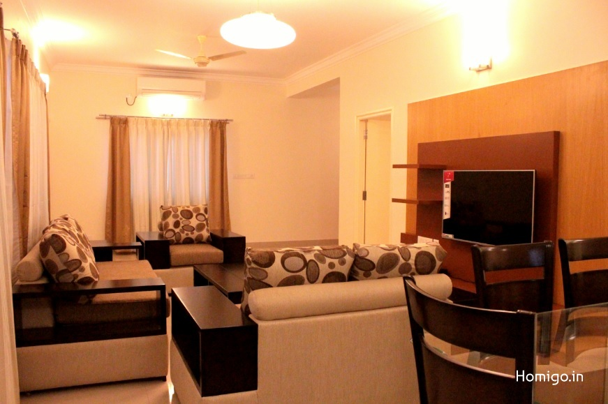 2 BHK Flat for rent in Homigo Marion, HSR Layout, Bangalore | Homigo