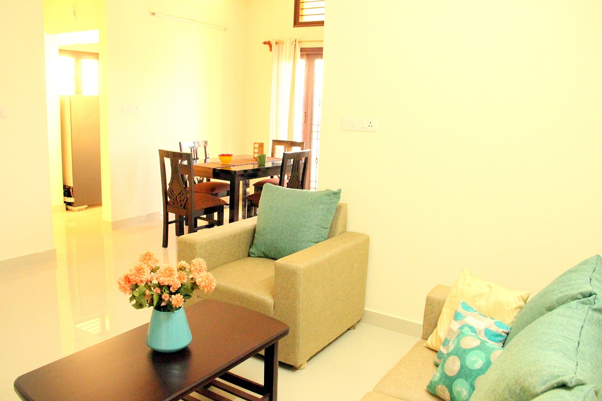 2 BHK furnished & semi-furnished Flat for rent in Homigo Pacific, HSR Layout, Bangalore | Homigo