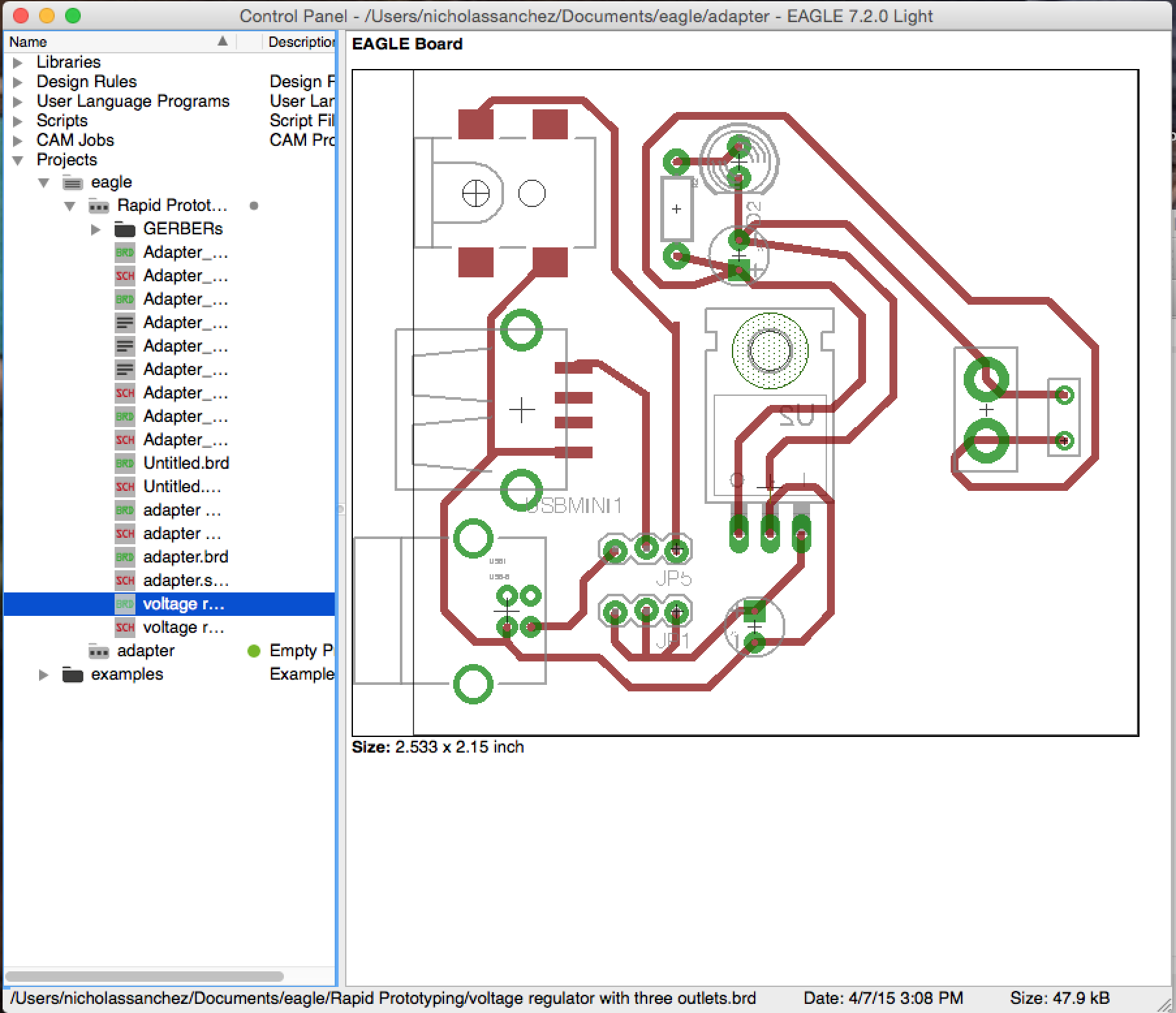 Fantastic Pcb Design Using Eagle Contemporary - Electrical and ...