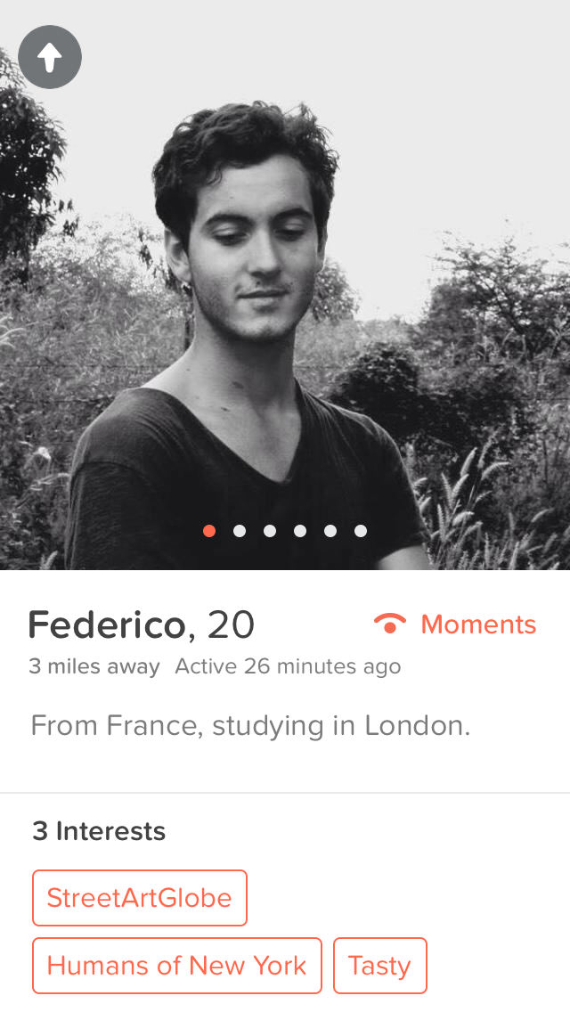 Best tinder about me