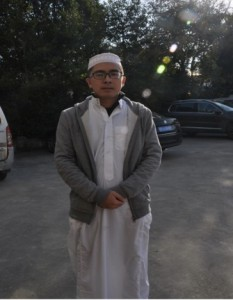 The Imam of the Pudong Mosque