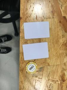 RFID tags/card readers