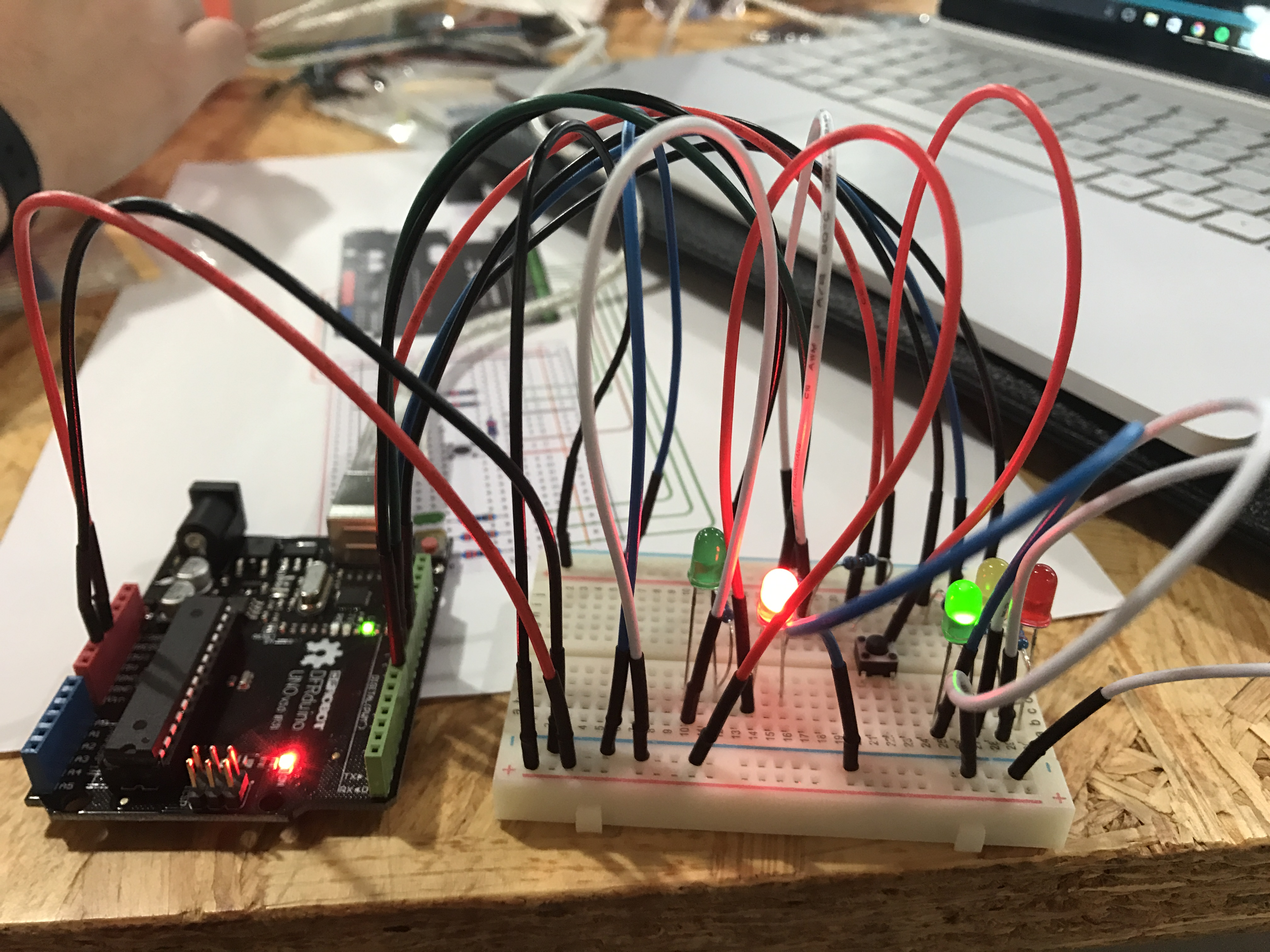Ima Interaction Lab Circuit Picture Sorry About The Messy Wiring Img 0423