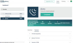 jQuery Complete