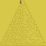 Progress of drawing maze