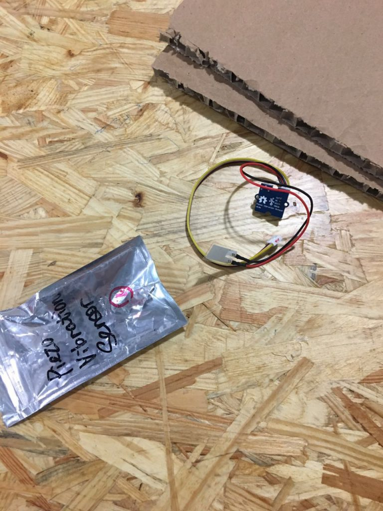 the vibration sensor