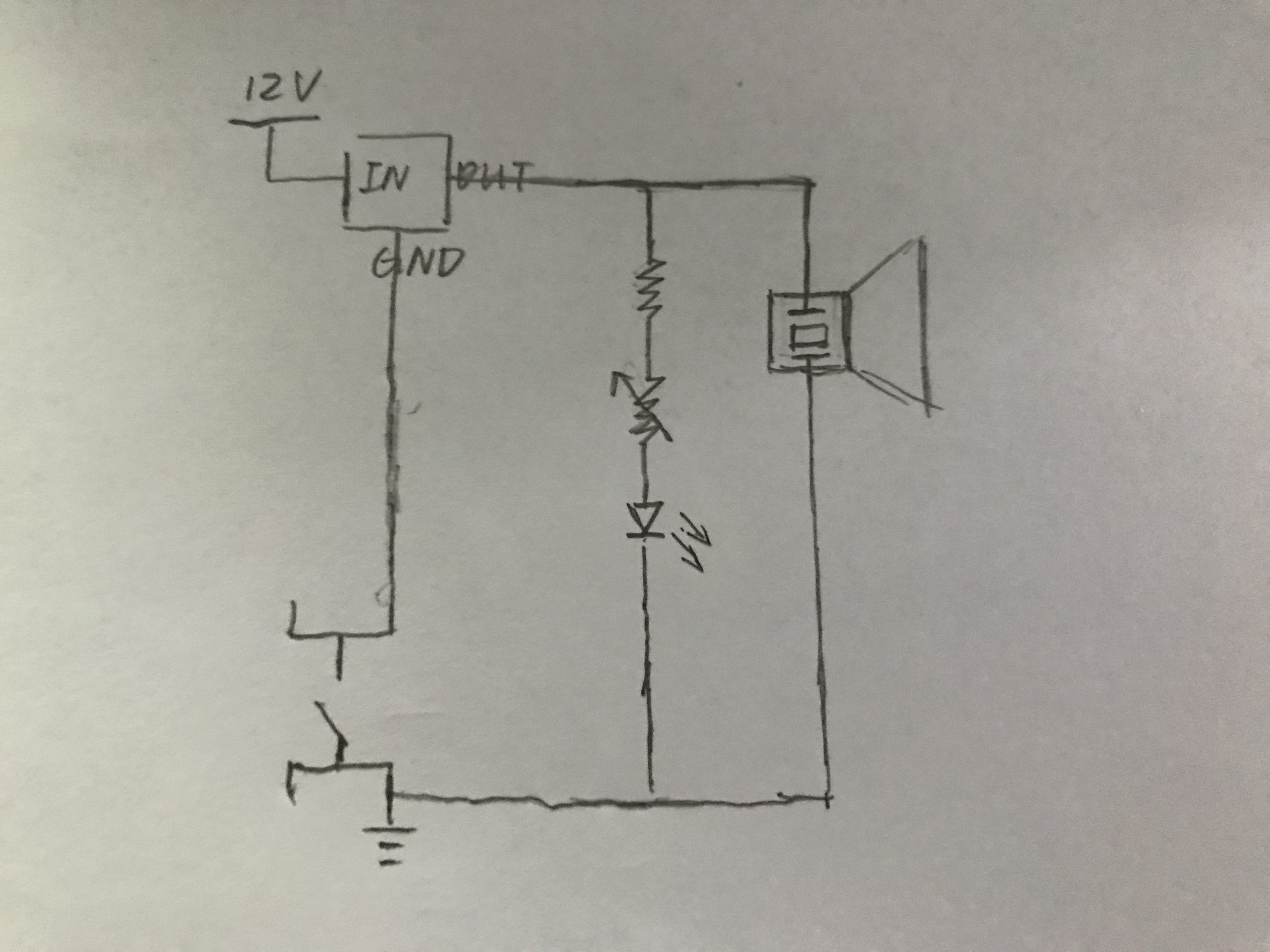 Imx Interaction Lab Recitation 1 Basic Circuits Flora Lu Circuit Diagram Variable Resistor Compared To The Second We Made Just Added One Into Based On Original Success Came Smoothly