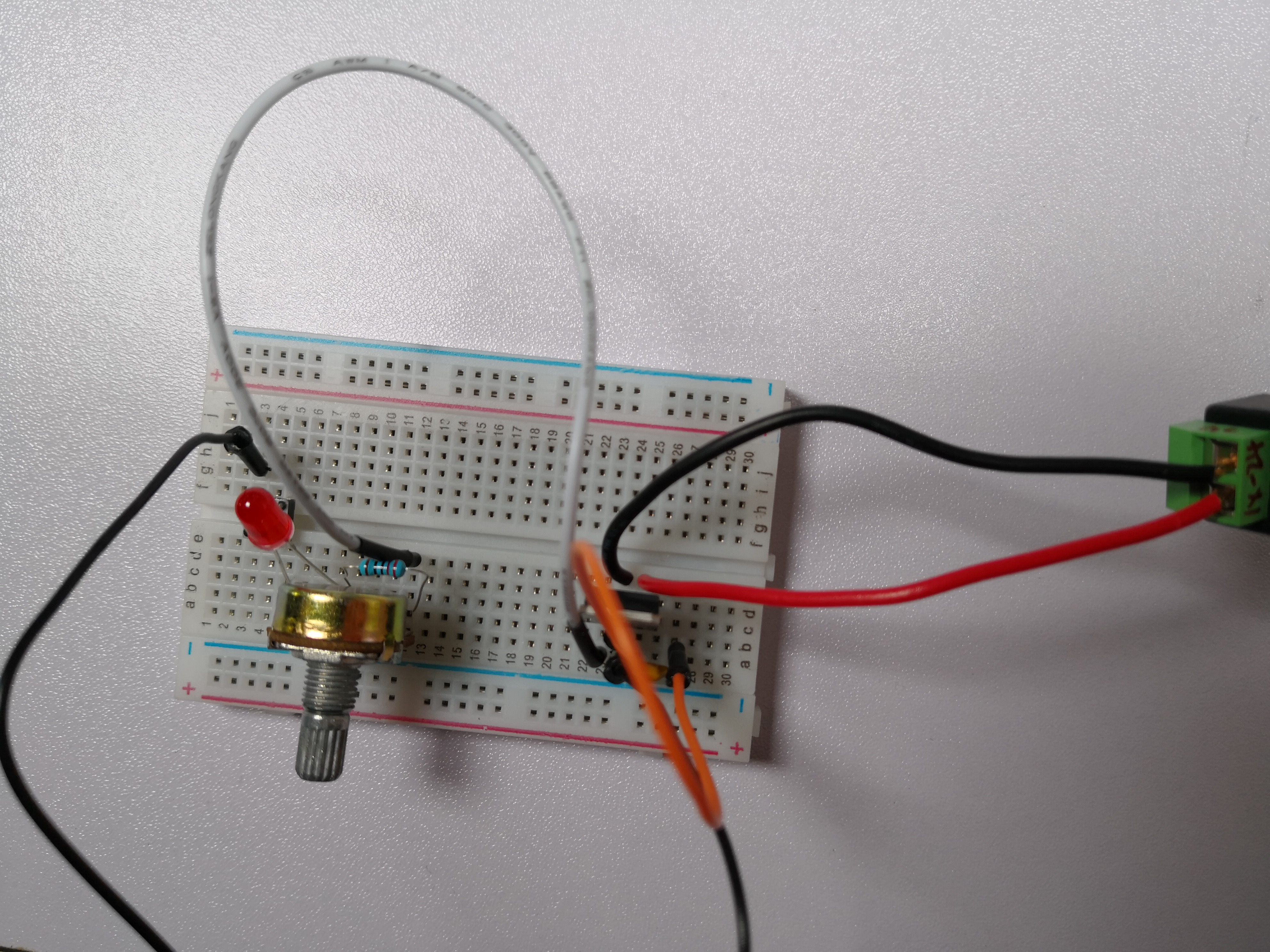 Imx Recitation 1 Electronic Sean Too Complicated For A Breadboard Build Circuits Circuit 3 Contains All The Items In 2 And Add Variable Resistor Resistors Resistance Is Adjustable By Screwing Switch On It
