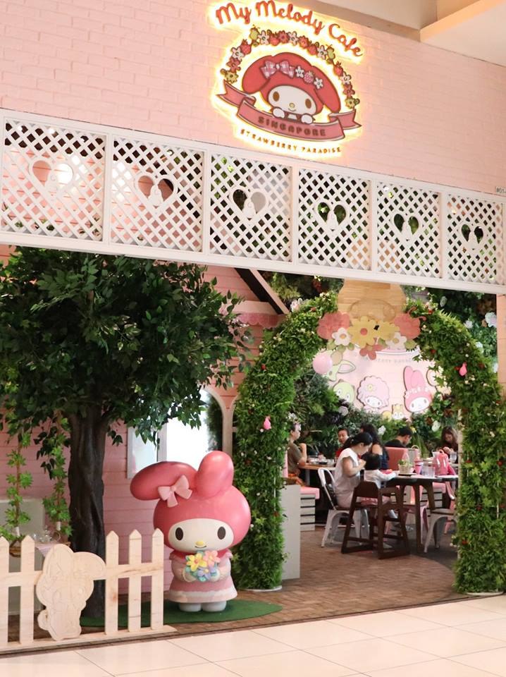 My Melody Café Singapore Official Facebook page