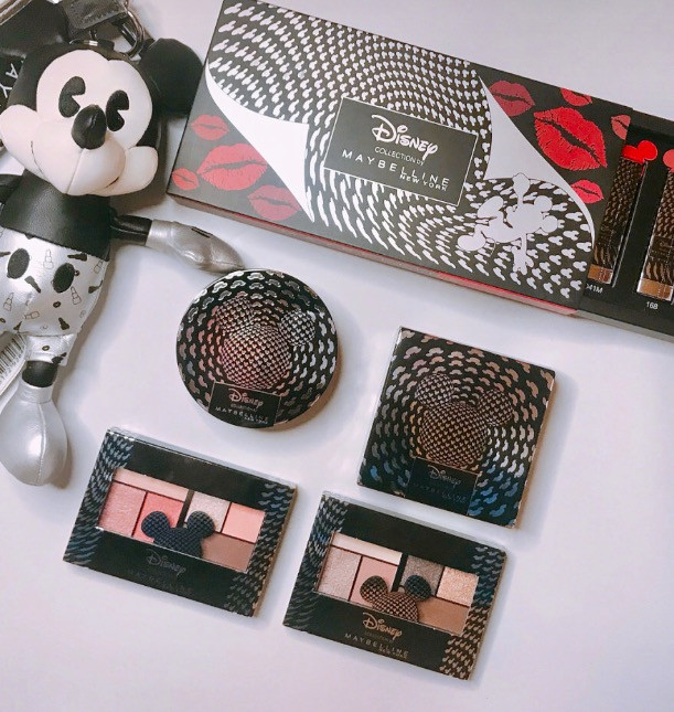 Maybelline x Disney Mickey Mouse 90th Anniversary Collection - 复古的黑白格调的酷炫联名彩妆品!