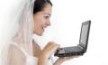 Bride planning a wedding at work
