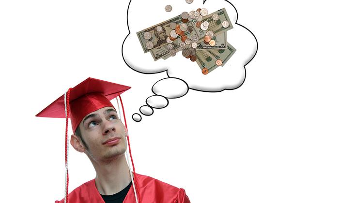 Australian male graduates earn more than female graduates