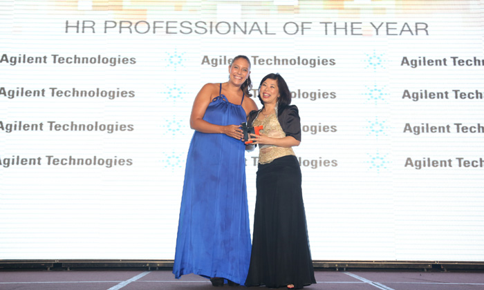 Jenny Ooi Agilent Technologies wins HR Professional of the Year at Human Resources Excellence Awards 2013
