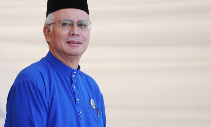 Malaysian Prime Minister Datuk Seri Najib tun Razak