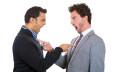 Businessmen fighting verbally