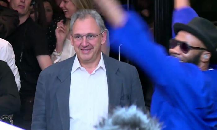 Net-a-Porter CEO Mark Sebba gets best send-off ever