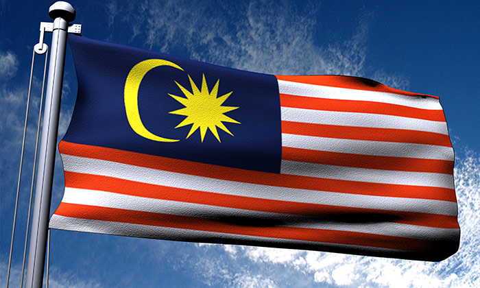 Malaysia flag to show Malaysia is a top destination for outsourced jobs