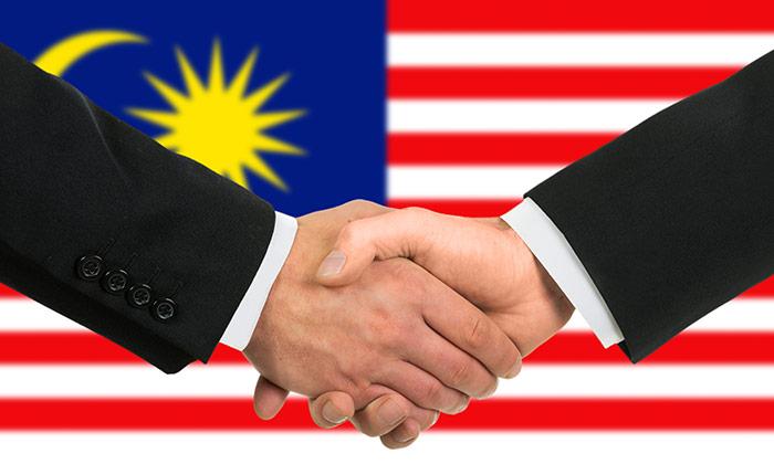 Malaysian handshake