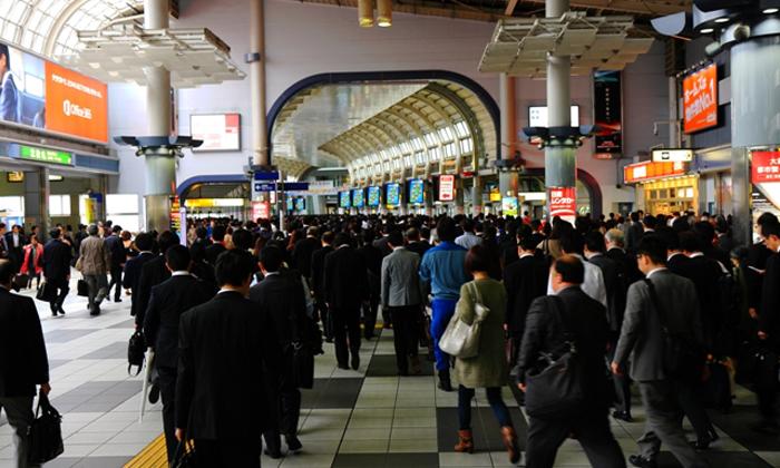 Japan workers