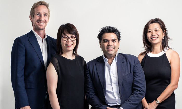 Dentsu Singapore new management