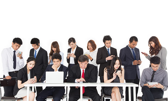 Distracted employees Accenture report