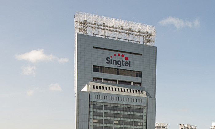 Singtel new logo