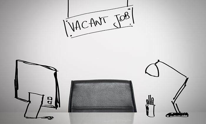 vacant job