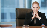 woman in C-suite