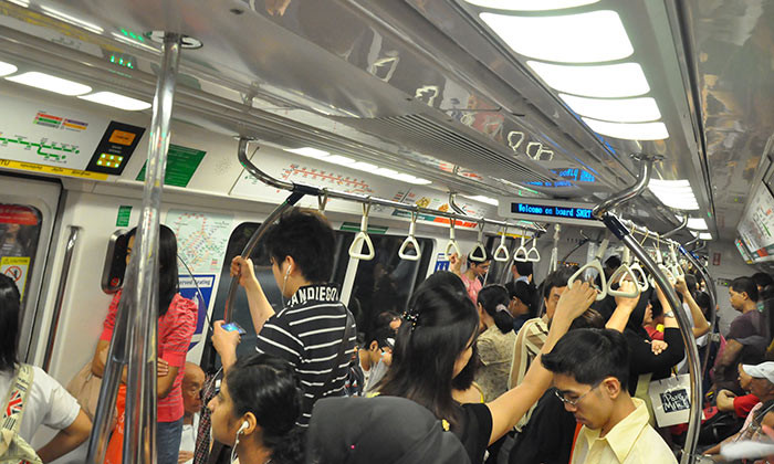 Singapore MRT commute hr