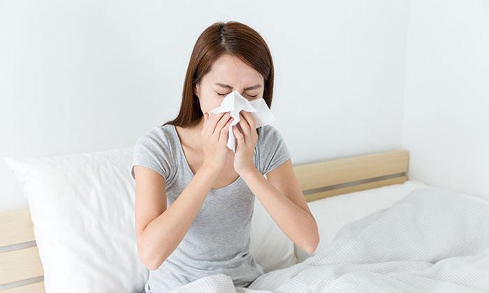 sick woman hr