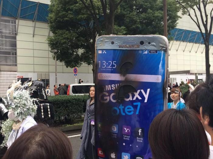 Halloween Costume Samsung Galaxy Note 7