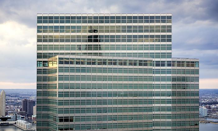 Goldman Sachs office in New York, hr