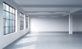 Empty office space, hr