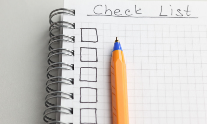Checklist of 35 recruiting guidelines