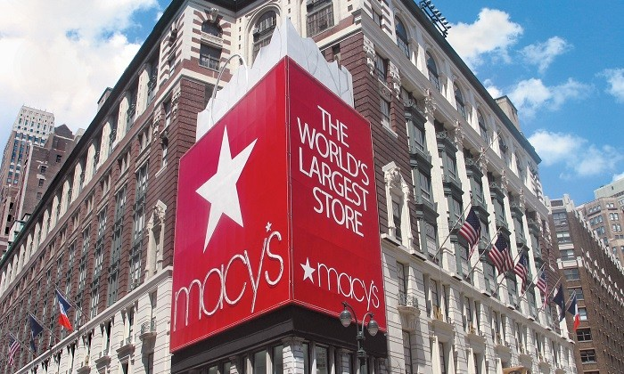 Macy's department store front, hr