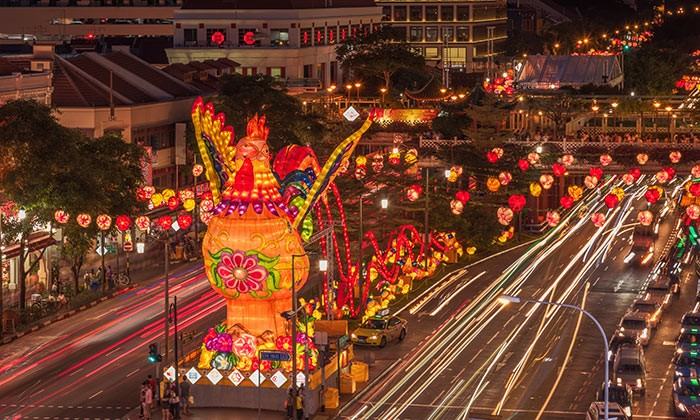 Singapore ministers thank workers this Rooster Lunar New Year