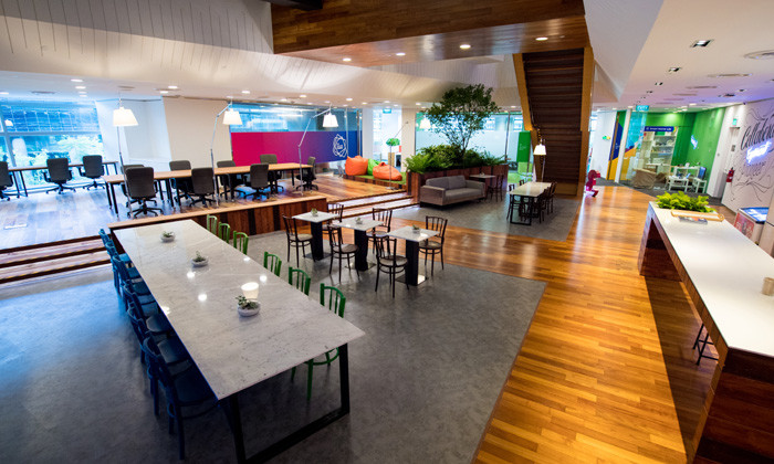 Unilever new co-working space