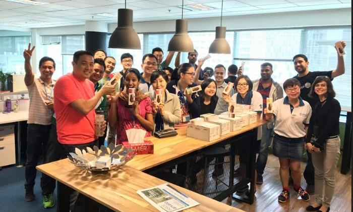 Employees of Avarto Malaysia