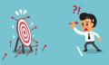 businessman miss target-123RF