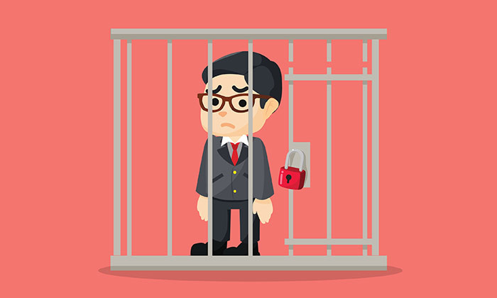 jailed businessman- 123RF