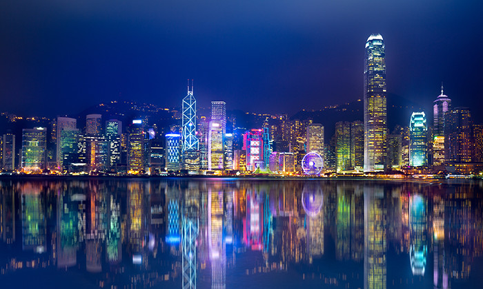 Hong Kong skyline, hr