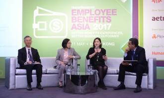 Thomas Lee at Employee Benefits Asia 2017, Hong Kong