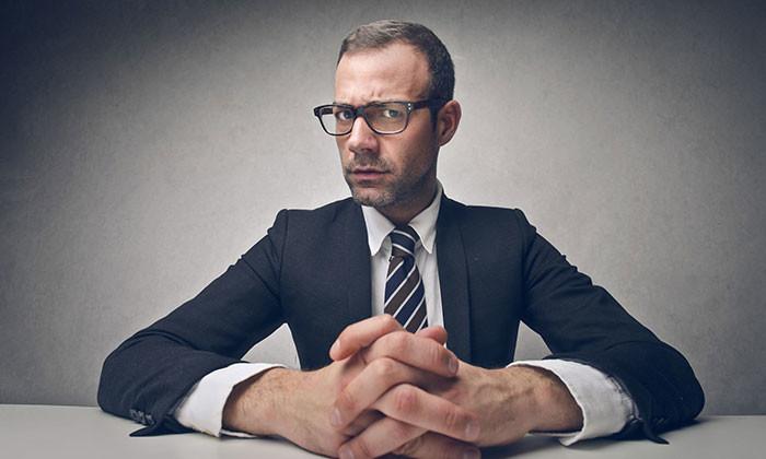 serious businessman - 123RF