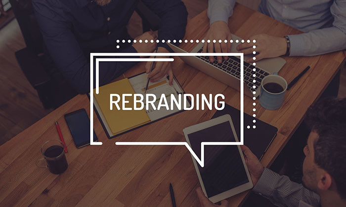rebranding - 123RF